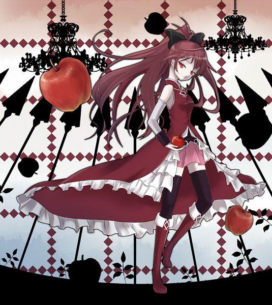 Tags: Anime, Shinsuisha, Mahou Shoujo Madoka☆Magica, Sakura Kyouko