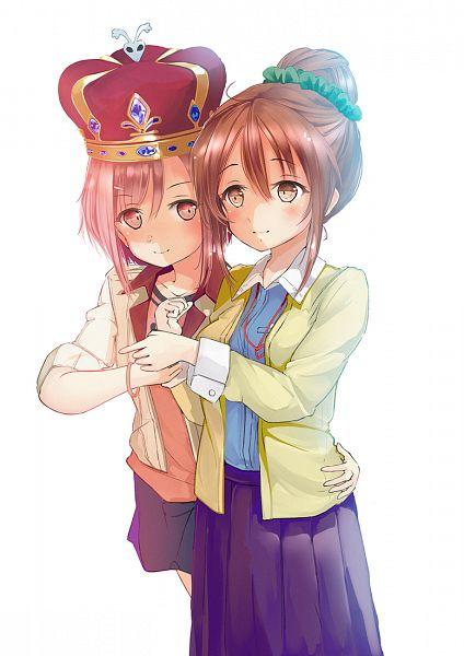 Tags: Anime, Miyabi (Miyabi), Sakura Quest, Koharu Yoshino, Shinomiya Shiori, PNG Conversion