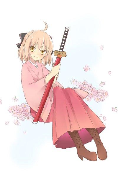 Tags: Anime, Pixiv Id 26653233, Fate/Grand Order, Sakura Saber