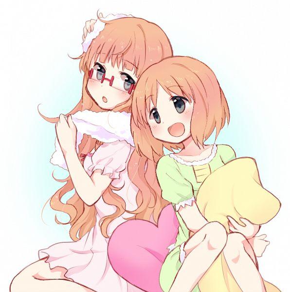 Tags: Anime, Tarabagani, Sakura Trick, Sonoda Mitsuki, Sonoda Yuu, PNG Conversion