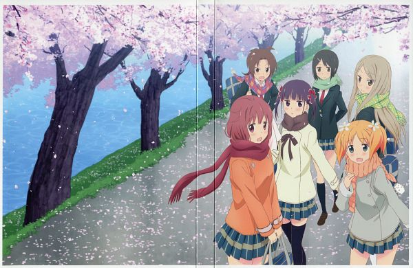 Tags: Anime, Sakai Kyuuta, Studio DEEN, Sakura Trick, Iizuka Yuzu, Takayama Haruka, Minami Shizuku, Sonoda Yuu, Noda Kotone, Ikeno Kaede, Scan, DVD (Source), Official Art