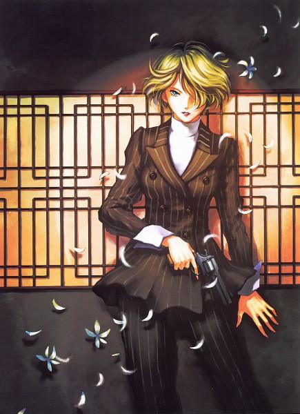 Tags: Anime, Kuori Chimaki, Sakura Wars Illustrations The Origin + Tribute, Sakura Taisen, Tachibana Maria, Scan, Official Art