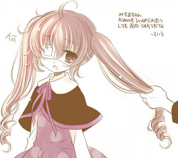 Tags: Anime, Sakurazawa Izumi, 07th Expansion, Higanbana no Saku Yoru ni, Sakurada Michiru, Pulling Hair