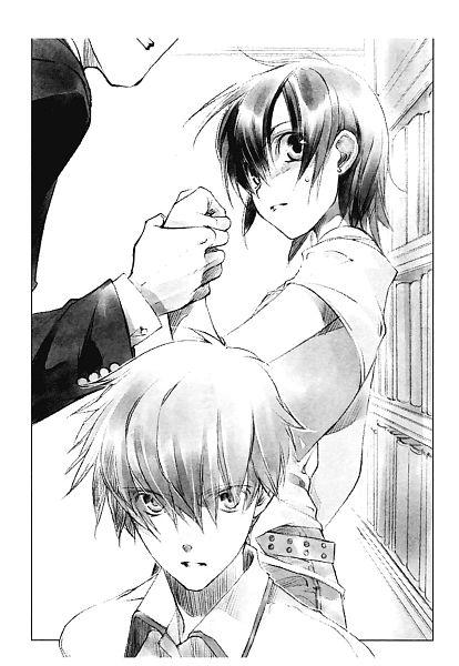 Tags: Anime, Shiina Yuu, Sakurada Reset, Asai Kei, Scan, Novel Illustration, Official Art, Character Request