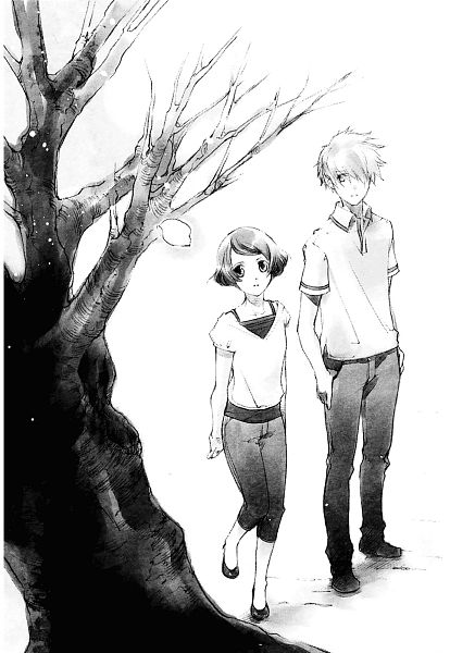 Tags: Anime, Shiina Yuu, Sakurada Reset, Haruki Misora, Asai Kei, Scan, Novel Illustration, Official Art