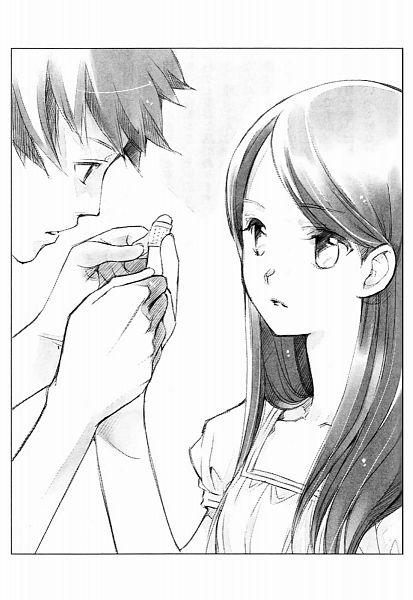 Tags: Anime, Shiina Yuu, Sakurada Reset, Scan, Novel Illustration, Official Art, Character Request