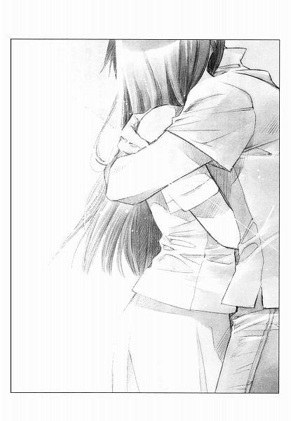 Tags: Anime, Shiina Yuu, Sakurada Reset, Official Art, Character Request, Scan, Novel Illustration