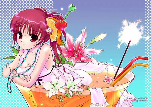 Tags: Anime, Sakuragi Akira, Cocktail, Pixiv, Original