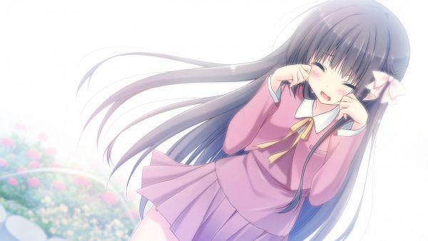 Tags: Anime, Sakura Hanpen, Parasol (Studio), Hare Nochi Kitto Nanohana Biyori, Sakuragi Amane, Wallpaper, CG Art