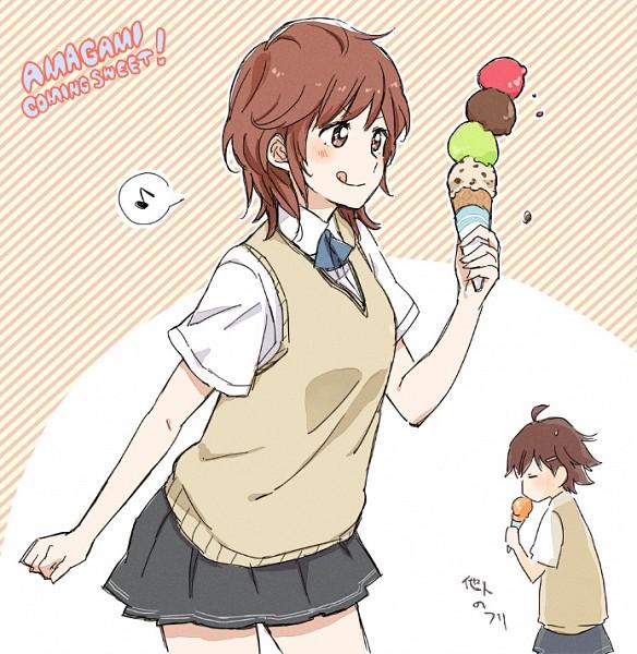 Tags: Anime, Peg, Amagami, Sakurai Rihoko