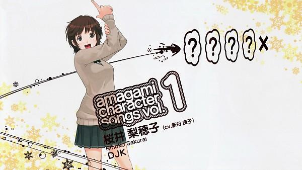 Tags: Anime, Takayama Kisai, Amagami, Sakurai Rihoko, HD Wallpaper, Scan, Official Art, Wallpaper, CD (Source)