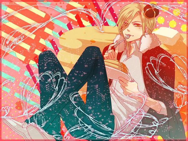 Tags: Anime, Yen, KONAMI, Tokimeki Memorial Girl's Side 3rd Story, Sakurai Ruka, Mini Crown, Pancakes, Pixiv