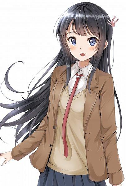 Tags: Anime, Pixiv Id 25472402, Seishun Buta Yarou Series, Sakurajima Mai, Pixiv, Fanart, Fanart From Pixiv