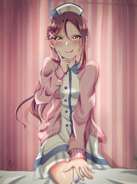 Tags: Anime, Pixiv Id 20020278, Love Live! Sunshine!!, Sakurauchi Riko, Fanart, Fanart From Pixiv, Pixiv
