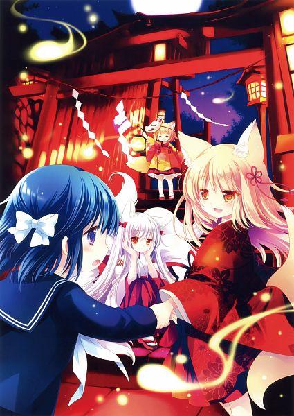 Tags: Anime, Sakurazawa Izumi, Eshi 100-nin Ten 07, Scan, Original