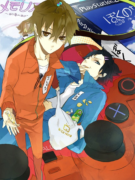 Tags: Anime, Jiku (0128hirosi), Salt (Nico Nico Jikkyou), Pepper (Nico Nico Jikkyou), Playstation, Nico Nico Jikkyou, Nico Nico Douga, Salt and Pepper