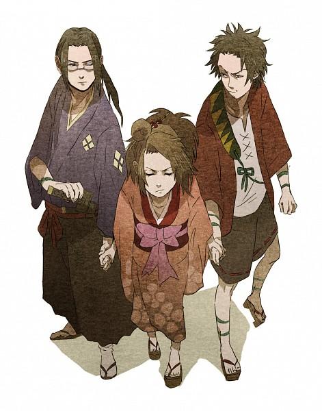 Tags: Anime, Samurai Champloo, Mugen (Samurai Champloo), Jin (Samurai Champloo), Kasumi Fuu