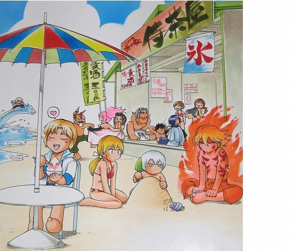 Tags: Anime, Samurai Deeper Kyo, Sarutobi Sasuke (Samurai Deeper Kyo), Shiina Yuya, Izumo No Okuni (Samurai Deeper Kyo), Benitora, Shinrei, Akari (Samurai Deeper Kyo), Sanada Yukimura (Samurai Deeper Kyo), Bontenmaru (Samurai Deeper Kyo), Demon Eyes Kyo, Hotaru (Samurai Deeper Kyo), Scan