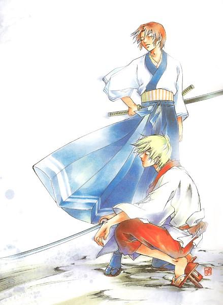 Tags: Anime, Samurai Deeper Kyo, Akira (Samurai Deeper Kyo), Hotaru (Samurai Deeper Kyo)