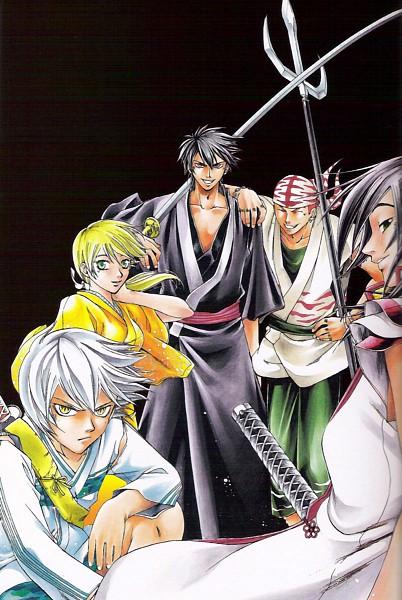 Tags: Anime, Samurai Deeper Kyo, Benitora, Sanada Yukimura (Samurai Deeper Kyo), Demon Eyes Kyo, Shiina Yuya, Sarutobi Sasuke (Samurai Deeper Kyo)