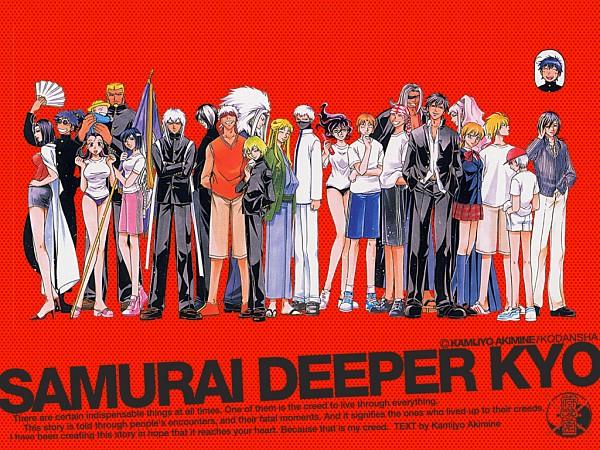 Tags: Anime, Samurai Deeper Kyo, Tokito (Samurai Deeper Kyo), Hotaru (Samurai Deeper Kyo), Migeira (Samurai Deeper Kyo), Hishigi (Samurai Deeper Kyo), Saishi, Sarutobi Sasuke (Samurai Deeper Kyo), Mahiro (Samurai Deeper Kyo), Fubuki (Samurai Deeper Kyo), Saisei, Sanada Yukimura (Samurai Deeper Kyo), Muramasa (Samurai Deeper Kyo)