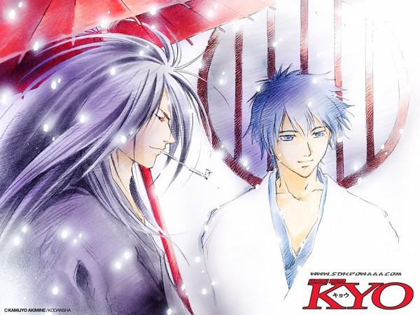Tags: Anime, Samurai Deeper Kyo, Kyoshiro Mibu, Demon Eyes Kyo, Wallpaper