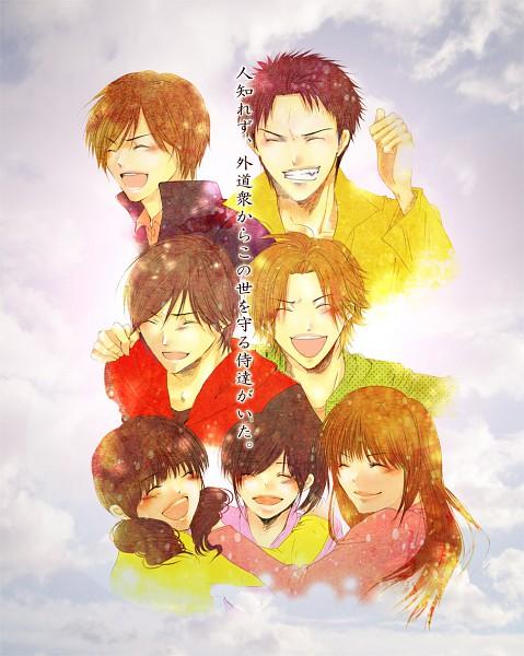 Tags: Anime, Tamosu, Samurai Sentai Shinkenger, Tani Chiaki, Hanaori Kotoha, Shiba Takeru, Shiraishi Mako, Ikenami Ryunosuke (Shinkenger), Shiba Kaoru, Umemori Genta, Pixiv