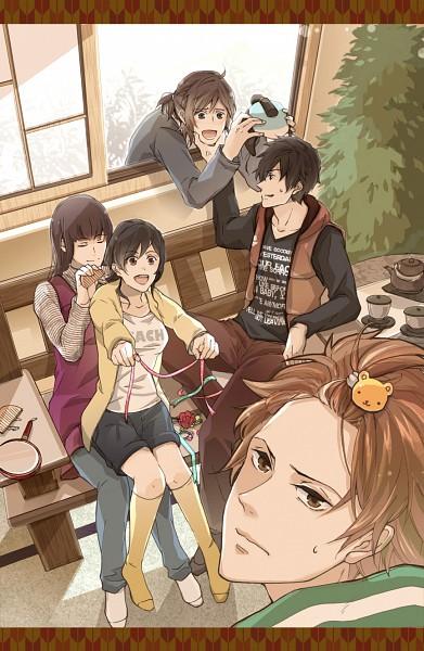 Tags: Anime, Pixiv Id 37967, Samurai Sentai Shinkenger, Tani Chiaki, Hanaori Kotoha, Shiba Takeru, Shiraishi Mako, Ikenami Ryunosuke (Shinkenger), Pixiv