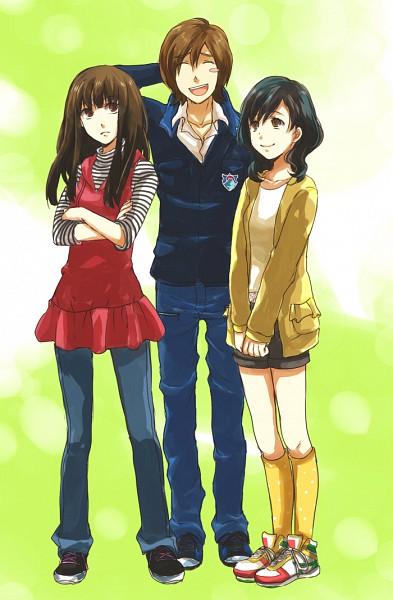 Tags: Anime, Nuga, Samurai Sentai Shinkenger, Ikenami Ryunosuke (Shinkenger), Hanaori Kotoha, Shiraishi Mako, Pixiv