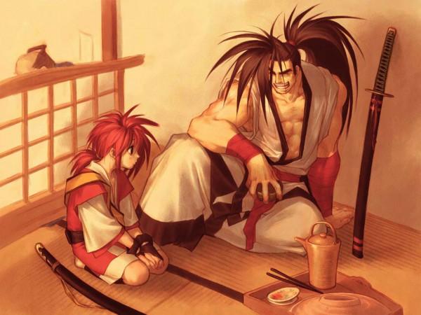 Tags: Anime, SNK Playmore, Samurai Spirits, Hisame Shizumaru, Hoahmaru, Official Art, Official Wallpaper, Wallpaper