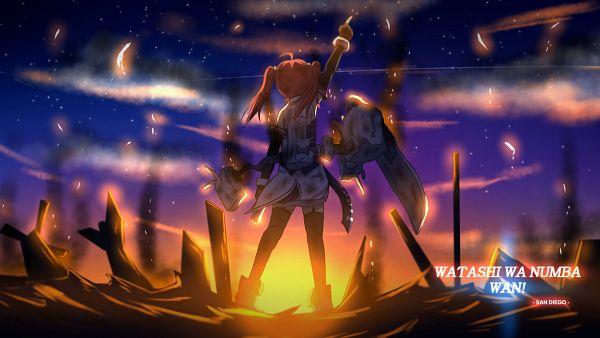 Tags: Anime, Pixiv Id 15013464, Azur Lane, San Diego (Azur Lane), Wallpaper