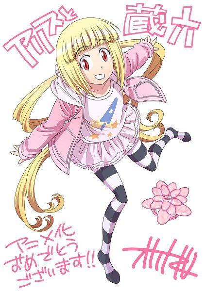 Tags: Anime, Alice to Zouroku, Sana (Alice to Zouroku), Pink Hoodie, Official Art