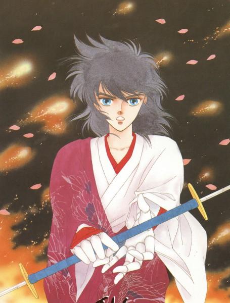 Tags: Anime, Mizuki Ken, Yoroiden Samurai Troopers, Sanada Ryou