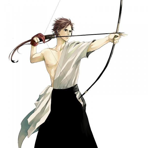 Tags: Anime, Shima (Pixiv 1259854), Sengoku Basara, Sanada Yukimura (Sengoku Basara), Loose Kimono, Fanart, Pixiv