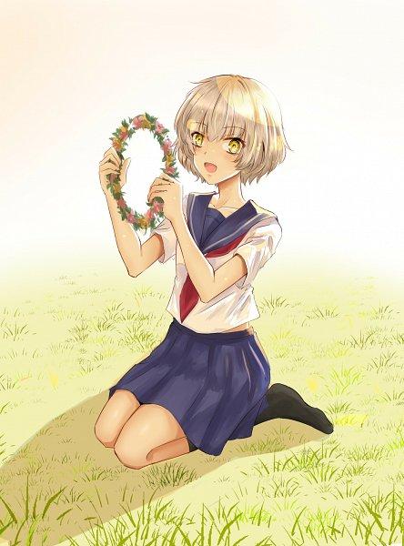 Tags: Anime, Pixiv Id 17446767, Toji no Miko, Sanae Iwakura, Uiharu Kazari (Cosplay)