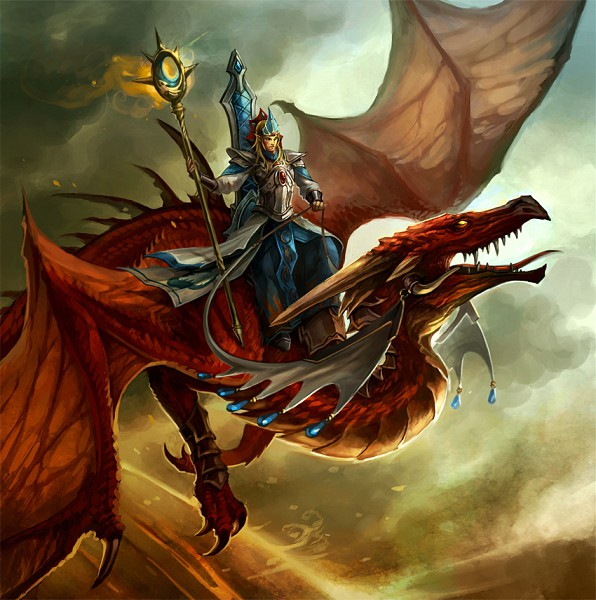 Tags: Anime, Sandara, Warhammer Invasion, Warhammer, Dragon Riding, deviantART