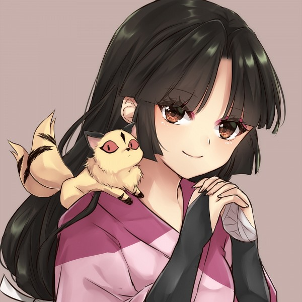 Tags: Anime, Pixiv Id 17300903, InuYasha, Sango, Kirara, Pixiv, Fanart From Pixiv, Fanart