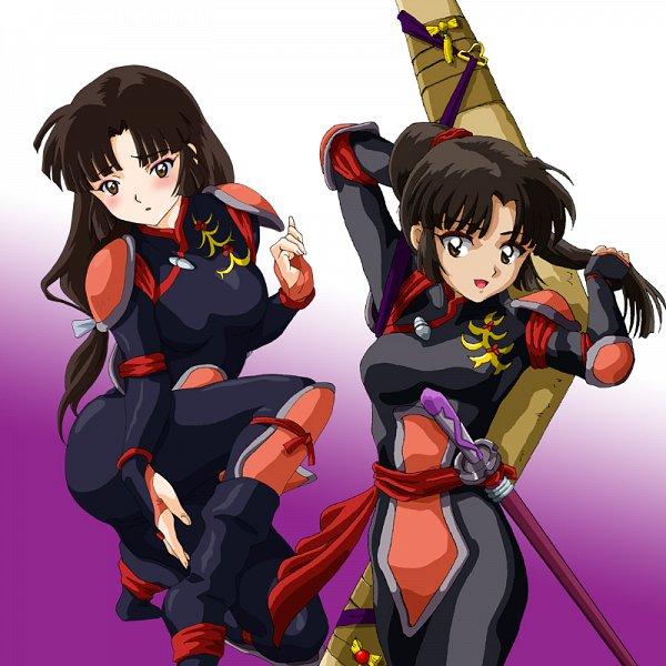 Tags: Anime, Pixiv Id 13839650, InuYasha, Sango, Boomerang