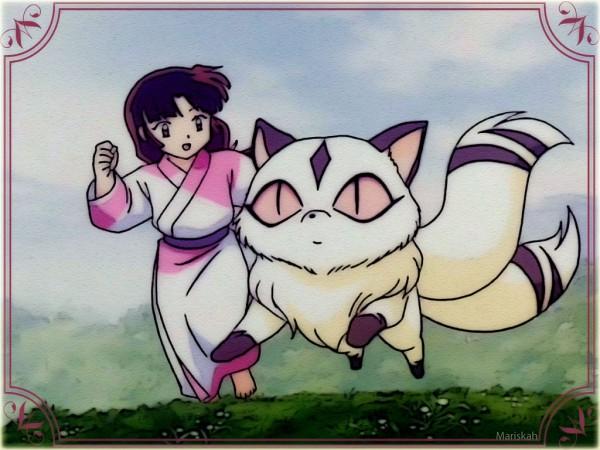 Tags: Anime, InuYasha, Kirara, Sango