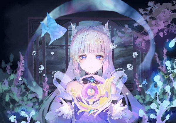 Tags: Anime, Pixiv Id 36507960, Genshin Impact, Sangonomiya Kokomi, Coral