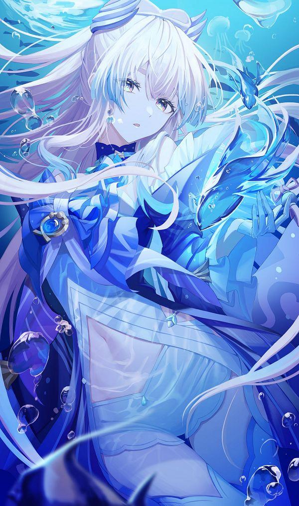 Tags: Anime, Pixiv Id 31850232, Genshin Impact, Sangonomiya Kokomi, Twitter