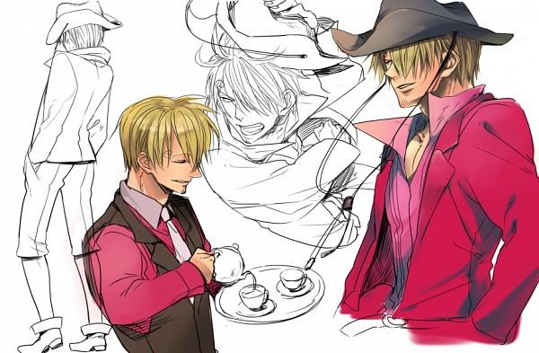 Tags: Anime, Pixiv Id 2558319, ONE PIECE, Sanji, Sketch, Fanart