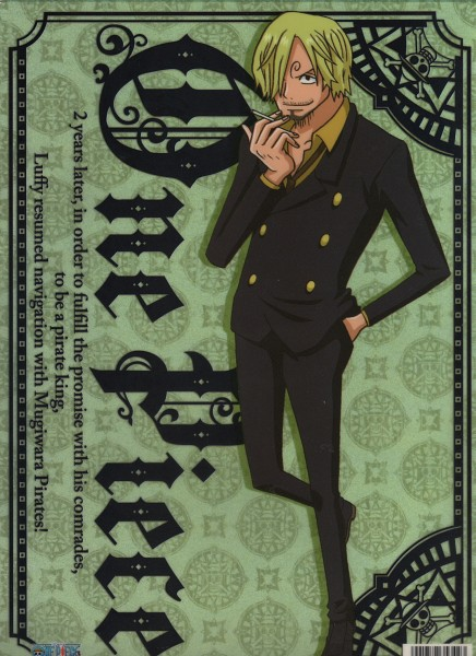 Tags: Anime, ONE PIECE, Sanji, One Piece: Two Years Later, Official Art, Scan