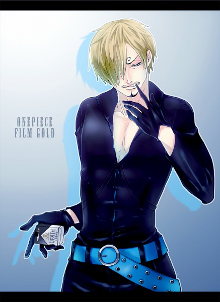 Tags: Anime, Pixiv Id 520618, ONE PIECE, ONE PIECE FILM GOLD, Sanji, Fanart From Pixiv, PNG Conversion, Fanart, Mobile Wallpaper, One Piece: Two Years Later, Pixiv