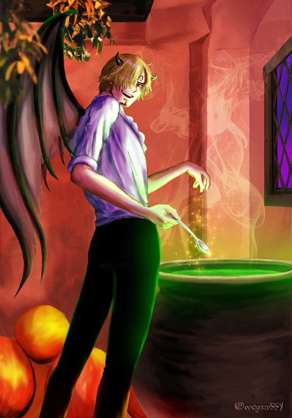 Tags: Anime, Pixiv Id 3147895, ONE PIECE, Sanji, Cauldron, Fanart From Pixiv, One Piece: Two Years Later, Fanart, Pixiv