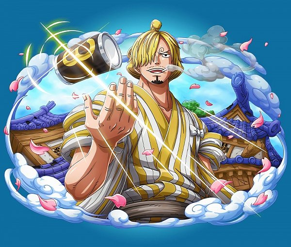 Tags: Anime, ONE PIECE, ONE PIECE: Treasure Cruise, Sanji, One Piece: Two Years Later, Official Art, Wano Kuni