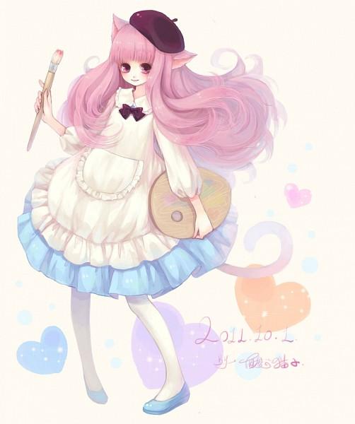 Tags: Anime, Sanmi Tenten, deviantART, Pixiv, Original