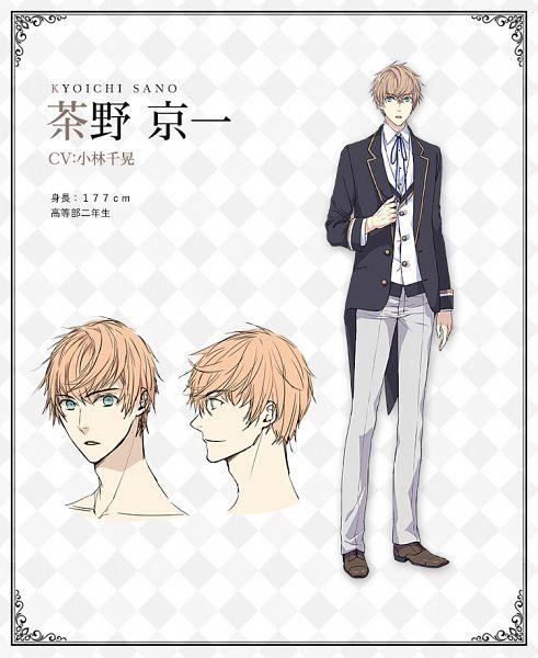 Tags: Anime, Kosumi Fujiko, Silver Link, Butlers: Chitose Momotose Monogatari, Sano Kyouichi, Official Art, Character Sheet