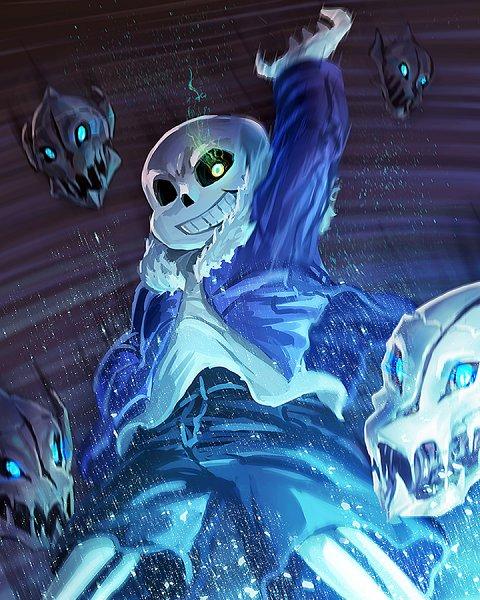 Tags: Anime, Freeze-Ex, Undertale, Sans