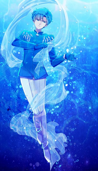 Tags: Anime, Saki Kunkatan, Bishoujo Senshi Sailor Moon, Saphir (BSSM), Saphire, Blue Gem, Fanart From Pixiv, Fanart, Mobile Wallpaper, Pixiv
